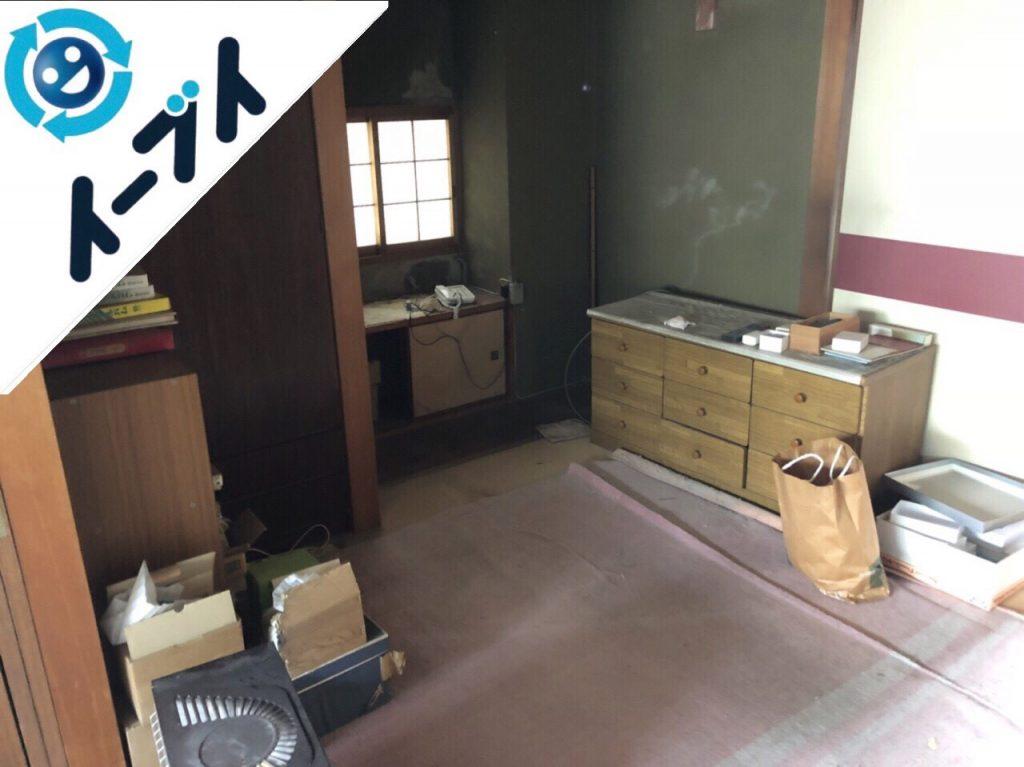 2018年11月4日大阪府大阪市東淀川区でオーディオラックなど粗大ゴミの不用品回収をしました。写真2