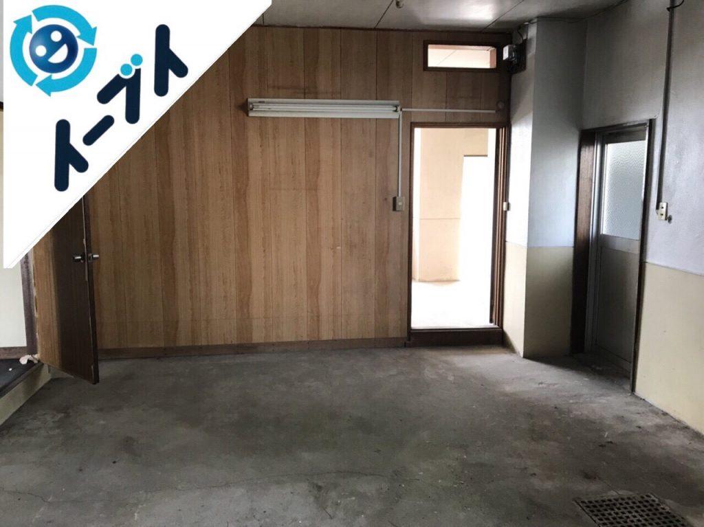 2018年11月1日大阪府柏原市で事務所のオフィス用品等の不用品回収をしました。写真3