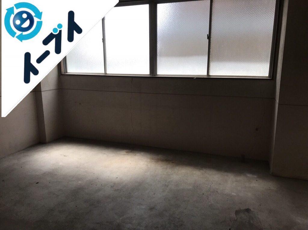2018年11月1日大阪府柏原市で事務所のオフィス用品等の不用品回収をしました。写真1
