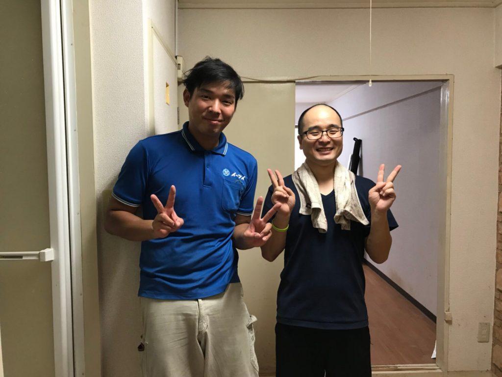 2018年10月14日大阪府大阪市都島区でお部屋の退去に伴う不用品の処分でイーブイをご利用して頂きました。