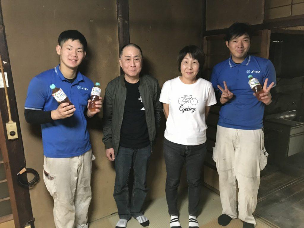 2018年10月27日大阪府大阪市西淀川区のお客様よりお部屋の退去に伴い、残っている家財道具等の不用品の処分で弊社をご利用頂きました。