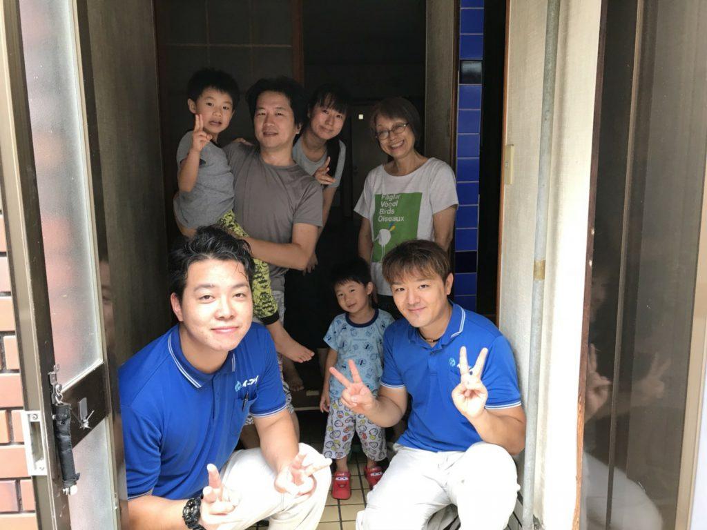 2018年10月10日大阪府大阪市西成区のお客様より引越に伴いお部屋の残置物を全て処分してほしいとの事で弊社をご利用頂きました。写真1