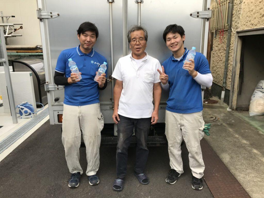 2018年10月31日 大阪府豊中市のお客様よりお部屋の片付けに伴ったタンス等の大型の家財道具の処分で弊社をご利用頂きました。