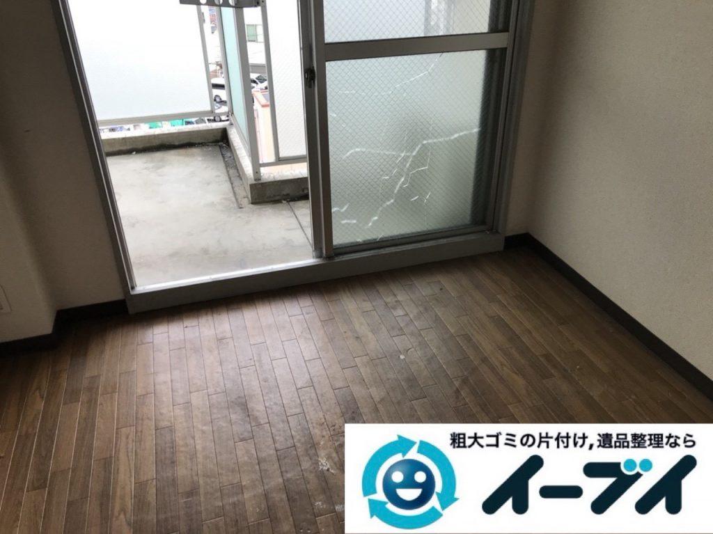 2018年11月6日大阪府大阪市大正区でワンルームゴミ屋敷の片付け処分をしました。写真4