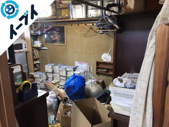 2018年12月2日大阪府高石市で空き家の家財道具の不用品回収をしました。写真4