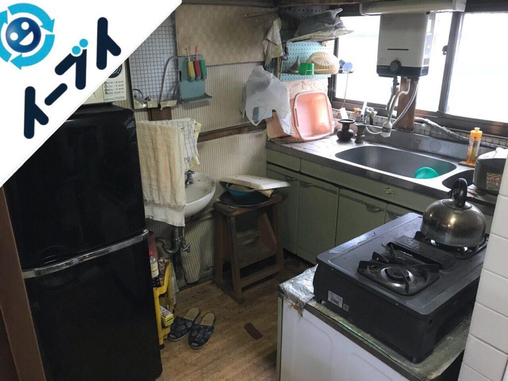 2018年11月10日大阪府河南町で空き家の残置物の片付け処分をしました。写真4