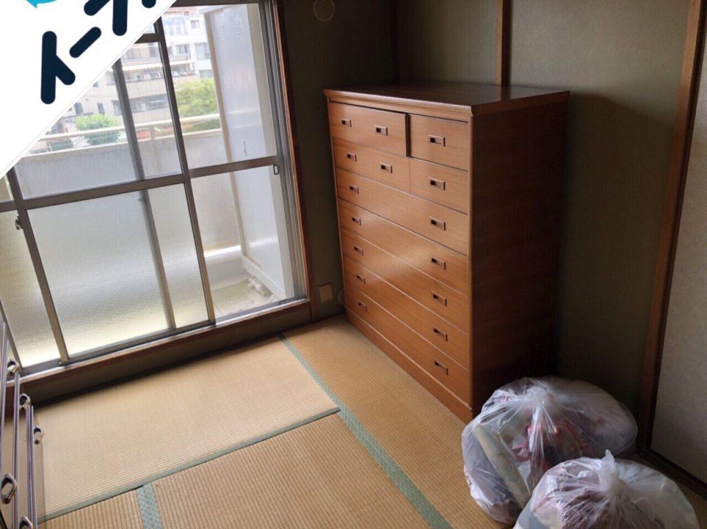 2018年11月25日大阪府大東市で仏壇や婚礼家具など粗大ゴミの不用品回収をしました。写真2