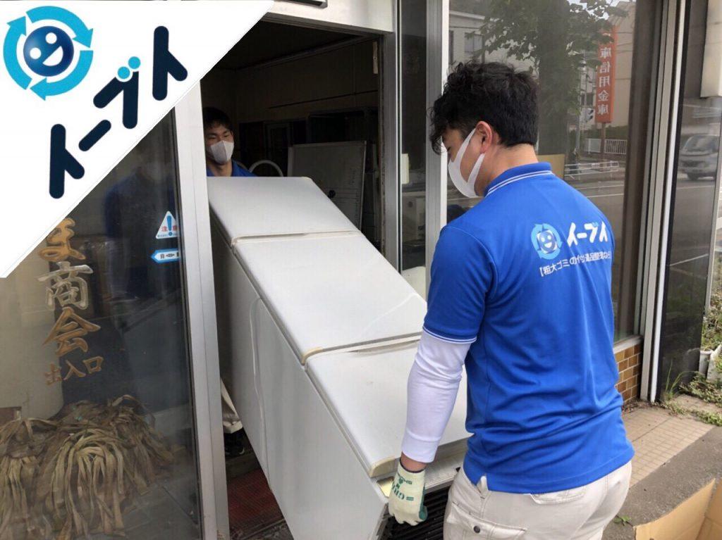2018年11月8日大阪府大阪市北区でカラーボックスやガスコンロ等の粗大ゴミの不用品回収をしました。写真5