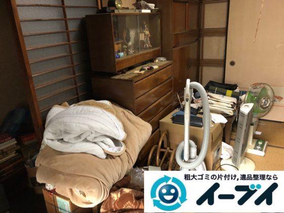 2018年12月5日大阪府吹田市で転居に伴い不要な家具や生活用品などの片付け処分。写真2
