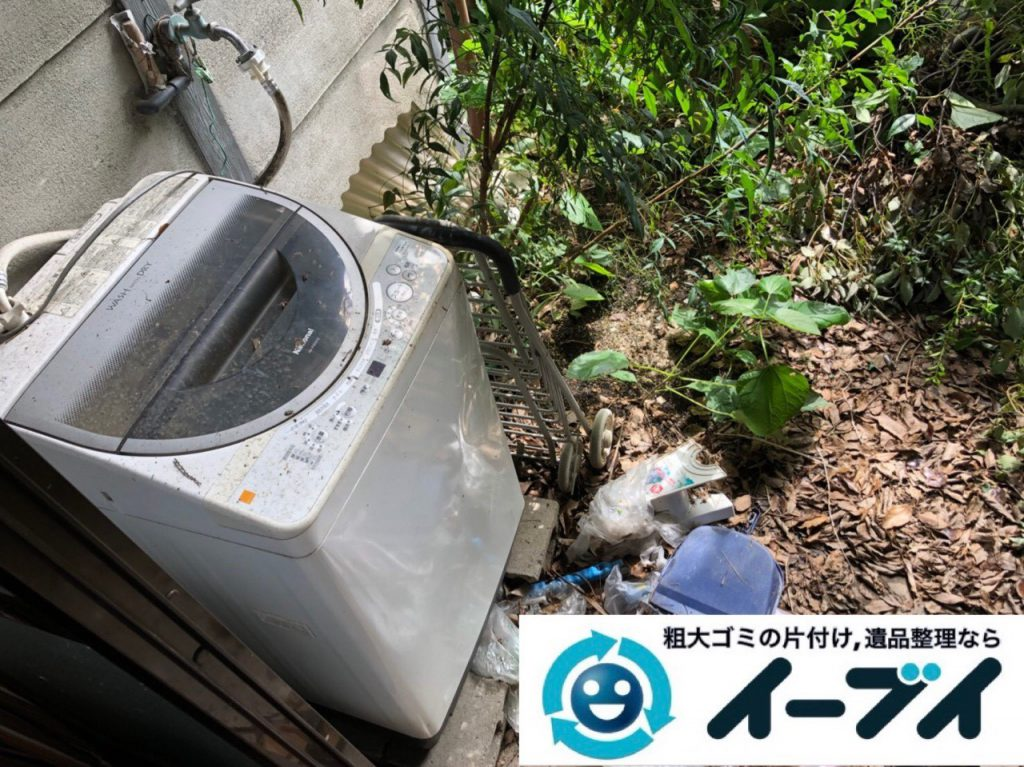 2018年11月26日大阪府大阪市淀川区でお庭の不用品の回収やお片付けのご依頼を頂きました。写真3