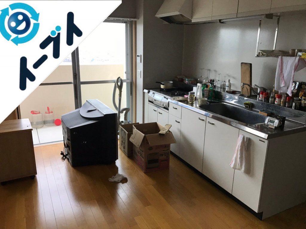 2018年11月16日大阪府大阪市港区でキッチン周りの片付けや大型家電などの回収をしました。写真4