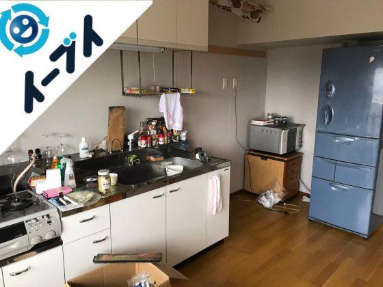 2018年11月16日大阪府大阪市港区でキッチン周りの片付けや大型家電などの回収をしました。写真2