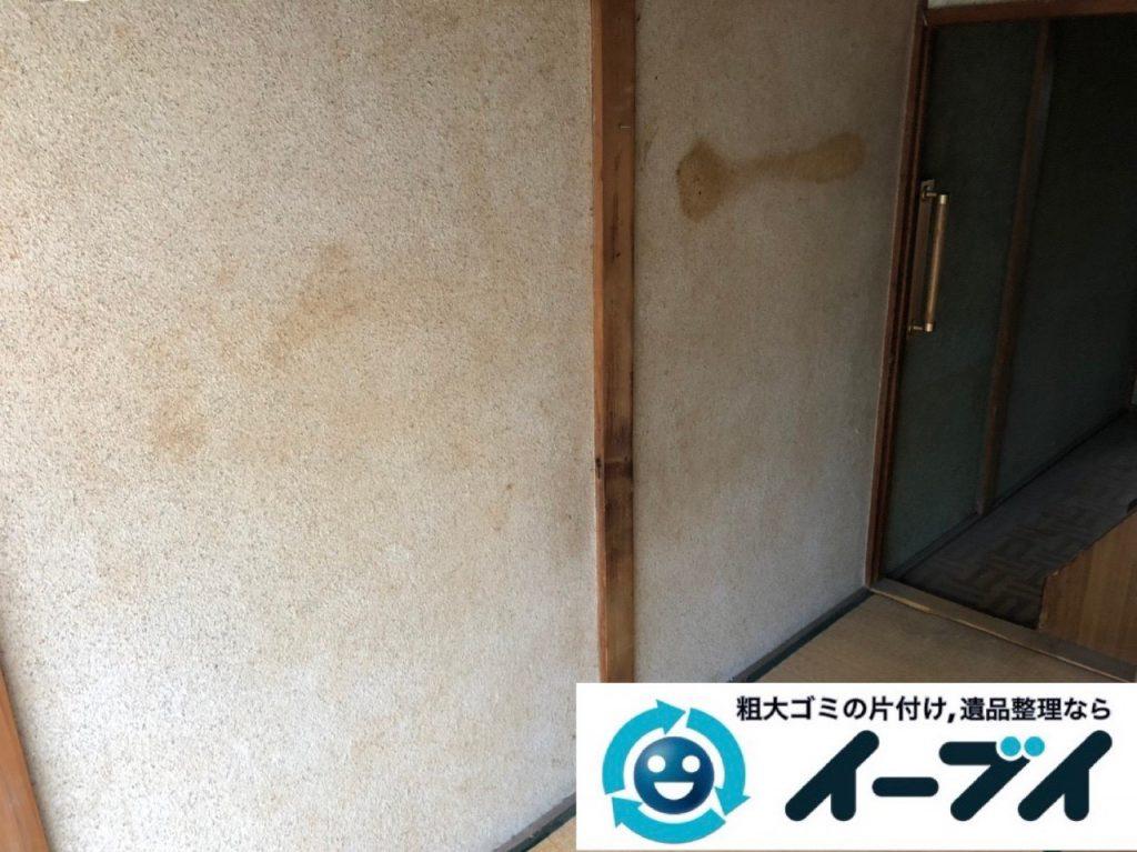 2019年1月24日大阪府大阪市東住吉区でテレビや箪笥などの不用品回収をさせていただきました。写真5