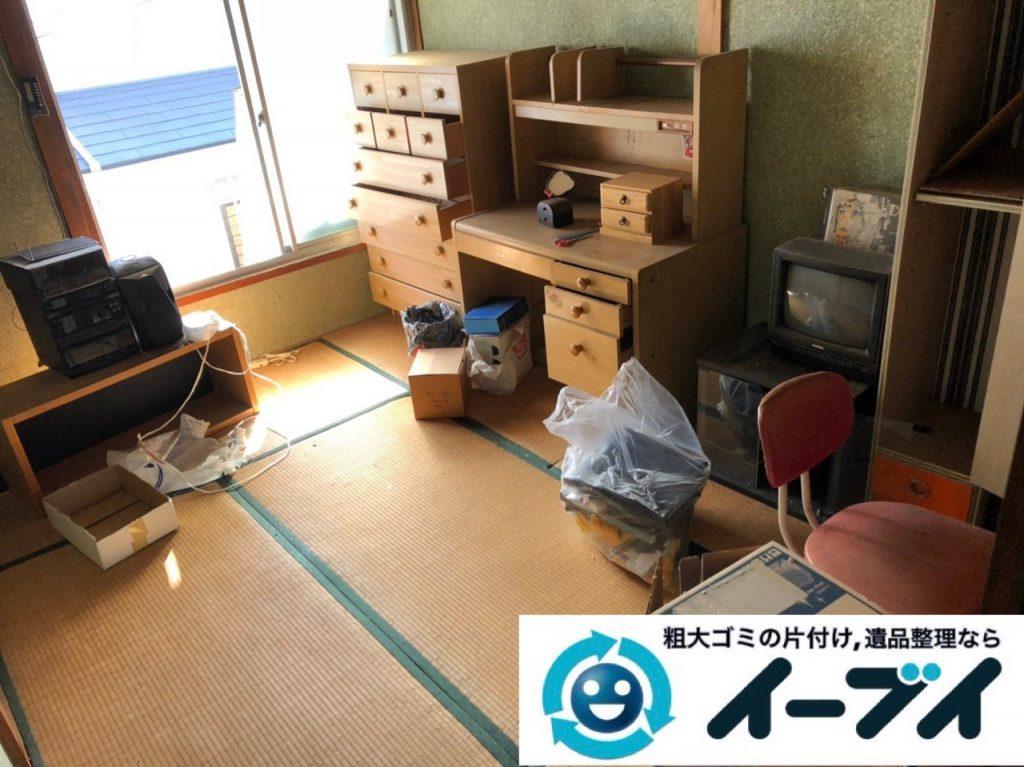 2019年1月23日大阪府大阪市平野区で退去に伴いお家の物を全処分させていただきました。写真4