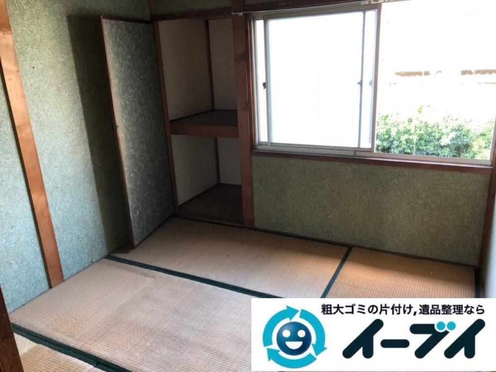 2019年1月23日大阪府大阪市平野区で退去に伴いお家の物を全処分させていただきました。写真3