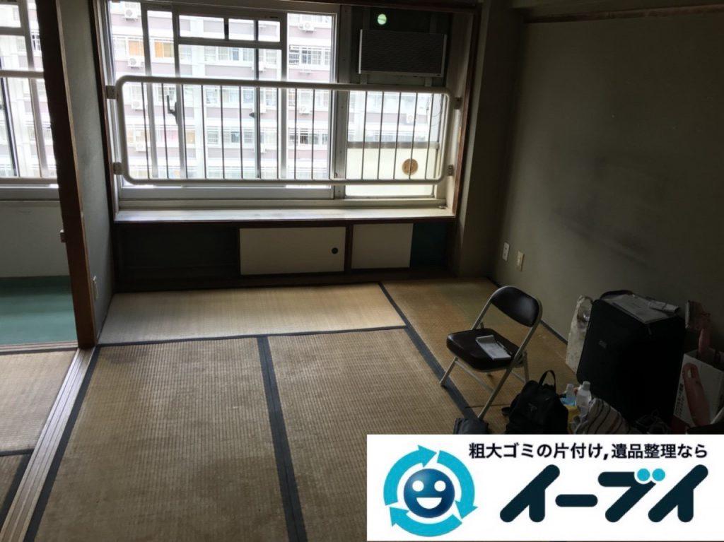 2019年1月20日大阪府港区で大型家具処分をはじめ細かな生活用品などの不用品回収をさせていただきました。写真2