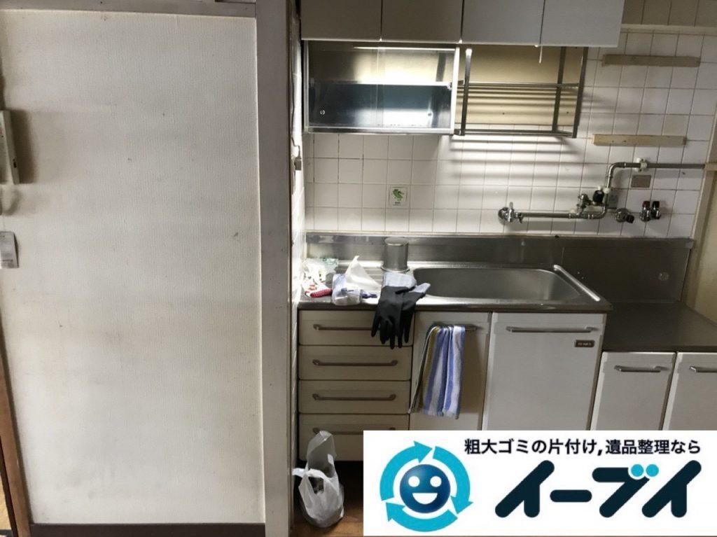 2019年1月26日大阪府大阪市淀川区でキッチンの片付け作業をさせていただきました。写真4