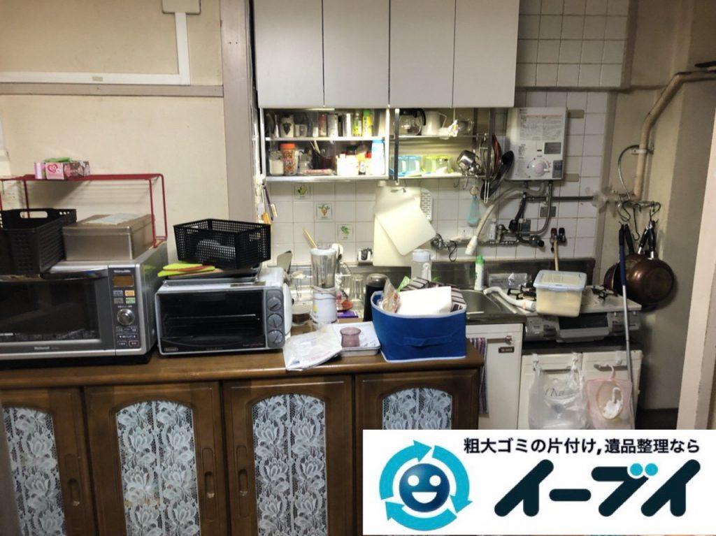 2019年1月26日大阪府大阪市淀川区でキッチンの片付け作業をさせていただきました。写真3