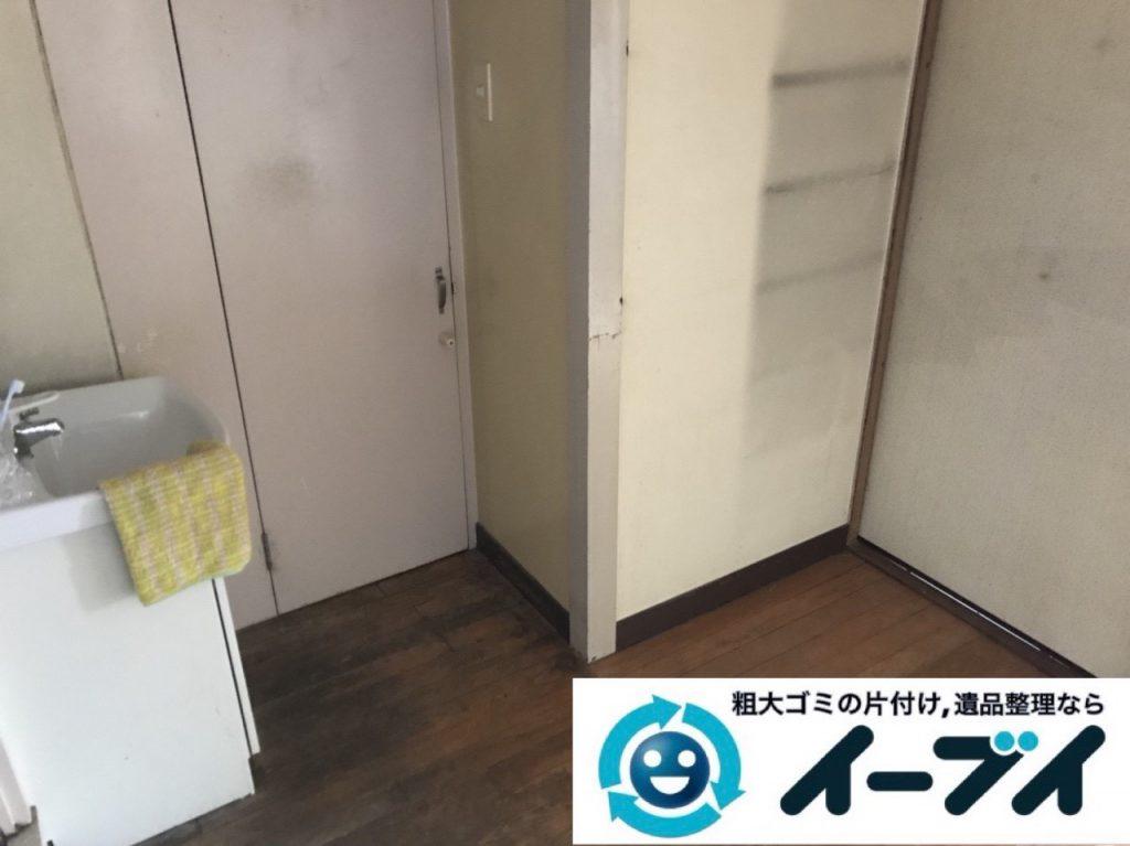 2019年1月26日大阪府大阪市淀川区でキッチンの片付け作業をさせていただきました。写真2