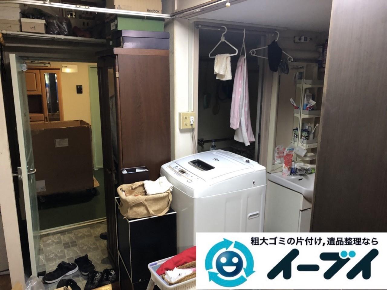 2019年1月28日大阪府大阪市浪速区で台所と浴室の不用品の片付け。写真3