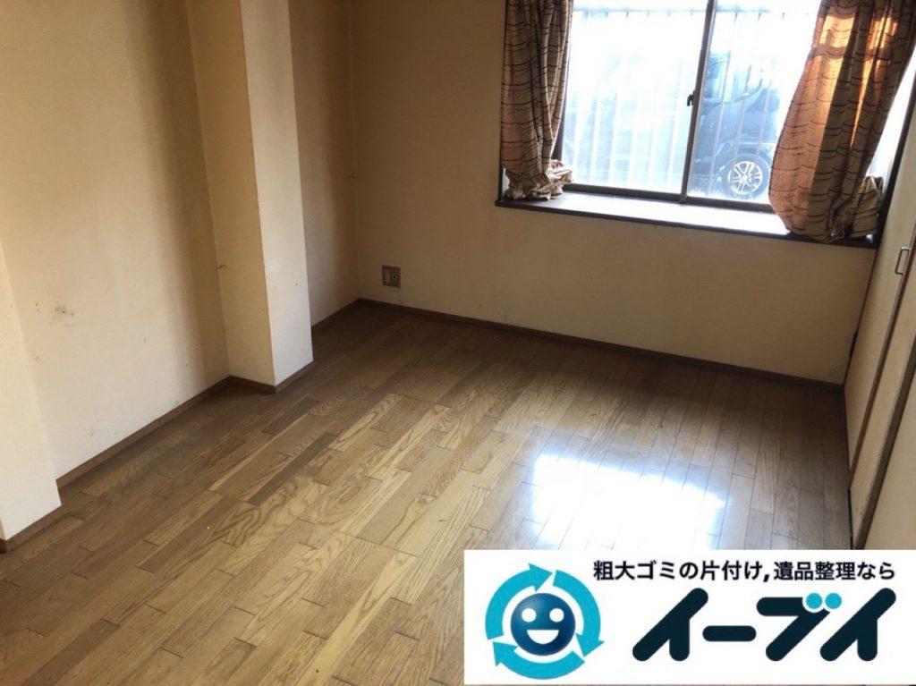 2019年1月16日大阪府大阪市大正区でお部屋の家具や家電などまるごと片付けさせていただきました。写真2