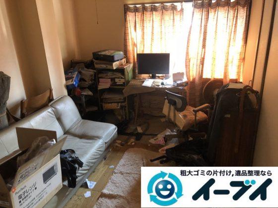 2019年1月16日大阪府大阪市大正区でお部屋の家具や家電などまるごと片付けさせていただきました。写真1