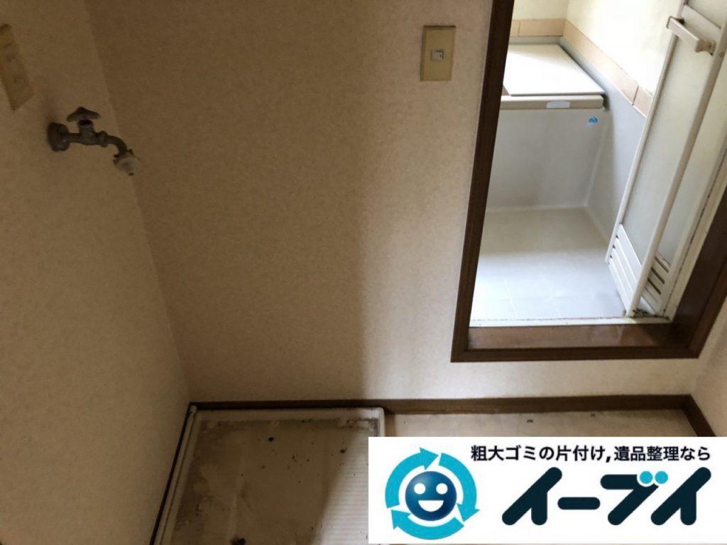2019年1月19日大阪府大阪市旭区で衣類や生活用品が散乱したお部屋を片付けさせていただきました。写真4