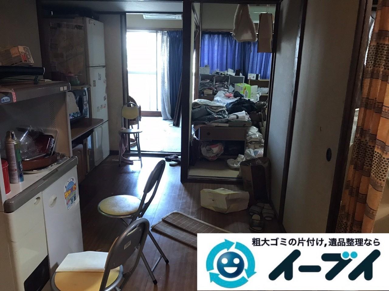 2019年1月24日大阪府大阪市東住吉区でテレビや箪笥などの不用品回収をさせていただきました。写真3