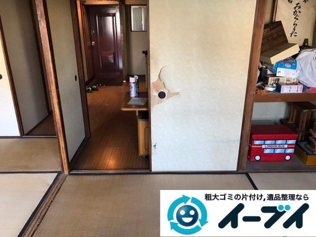 2019年1月24日大阪府大阪市東住吉区でテレビや箪笥などの不用品回収をさせていただきました。写真2