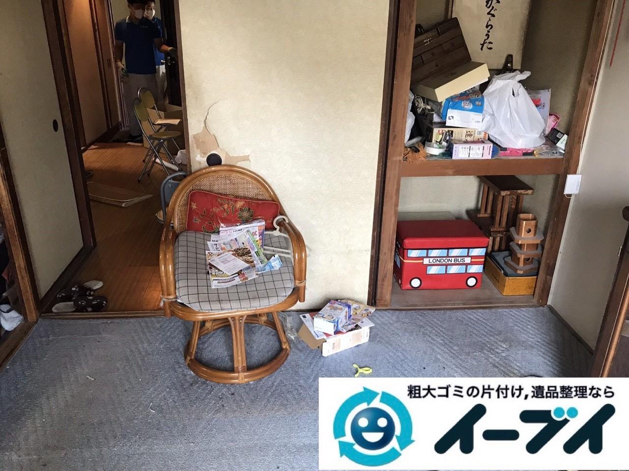 2019年1月13日大阪府大阪市住之江区で椅子や収納棚の粗大ゴミの不用品回収。写真4