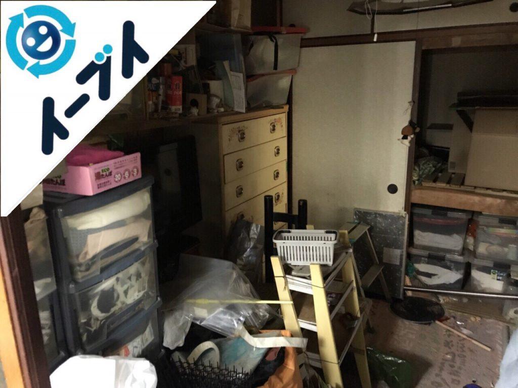 2018年12月15日大阪府高石市で整理タンスや絨毯など部屋丸ごと不用品回収。写真6