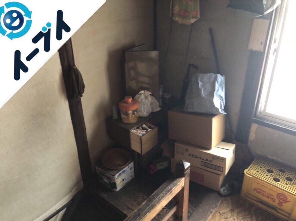 2018年12月23日大阪府堺市南区で空き家整理に伴い残置物処分をしました。写真4