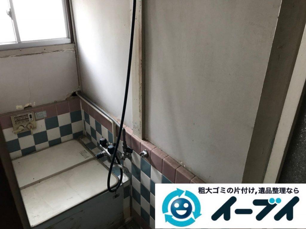 2018年12月26日大阪府大阪市住之江区で長年使用いない物があふれたゴミ屋敷のお片付け。写真3