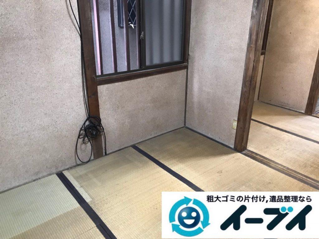2018年12月9日大阪府大阪市住之江区で施設入居に伴い生活用品や家財の回収依頼。写真3