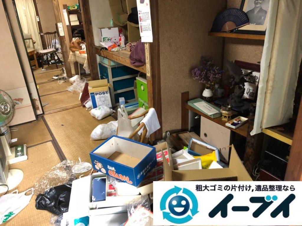 2018年12月21日大阪府大阪市西成区で押し入れの不用品や生活ゴミなどの片付け依頼。写真5