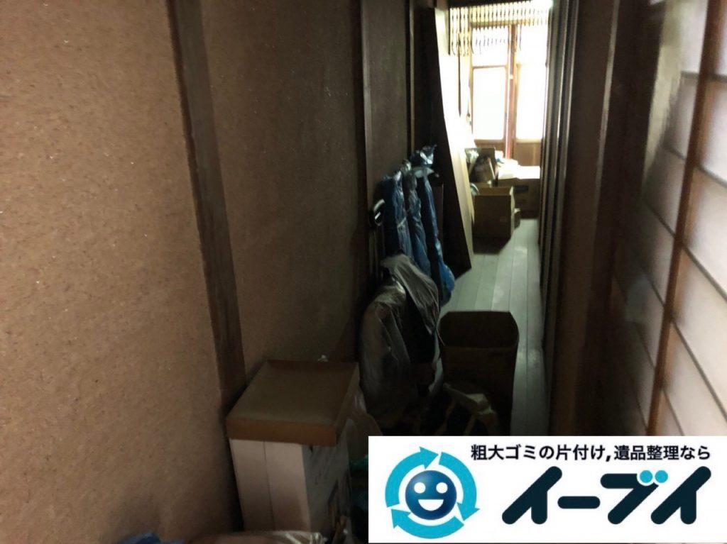 2018年12月24日大阪府大阪市平野区で物置に眠っていた不用品や下駄箱などの回収をしました。写真2