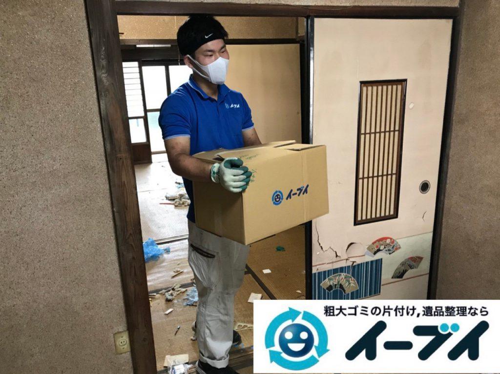 2018年12月21日大阪府大阪市西成区で押し入れの不用品や生活ゴミなどの片付け依頼。写真1