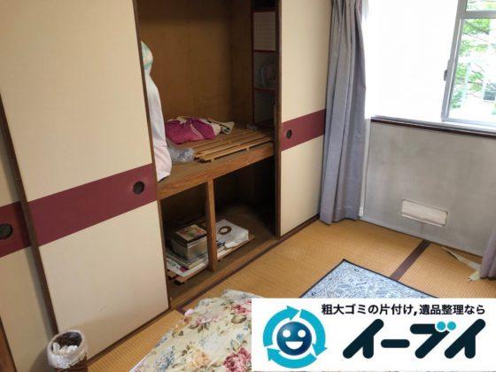 2018年12月19日大阪府大阪市城東区で転居に伴い洗濯機や生活用品などの片付け処分。写真5