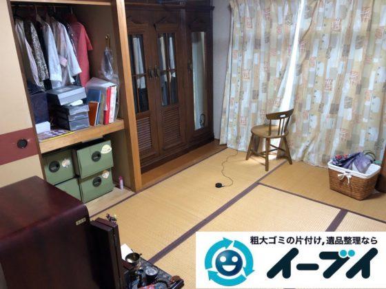 2018年12月25日大阪府堺市北区で冷蔵庫や押し入れ収納ケースなど不用品回収しました。写真4