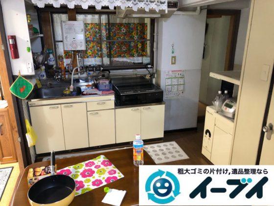2018年12月11日大阪府大阪市大正区で引っ越しに伴いキッチン周りの片付け処分のご依頼。写真4