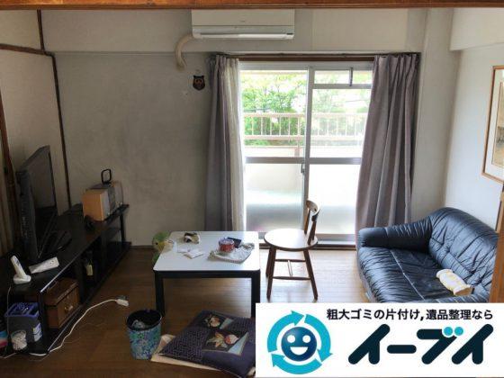 2018年12月7日大阪府大阪市港区で施設入居に伴い家財道具の処分片付け。写真4