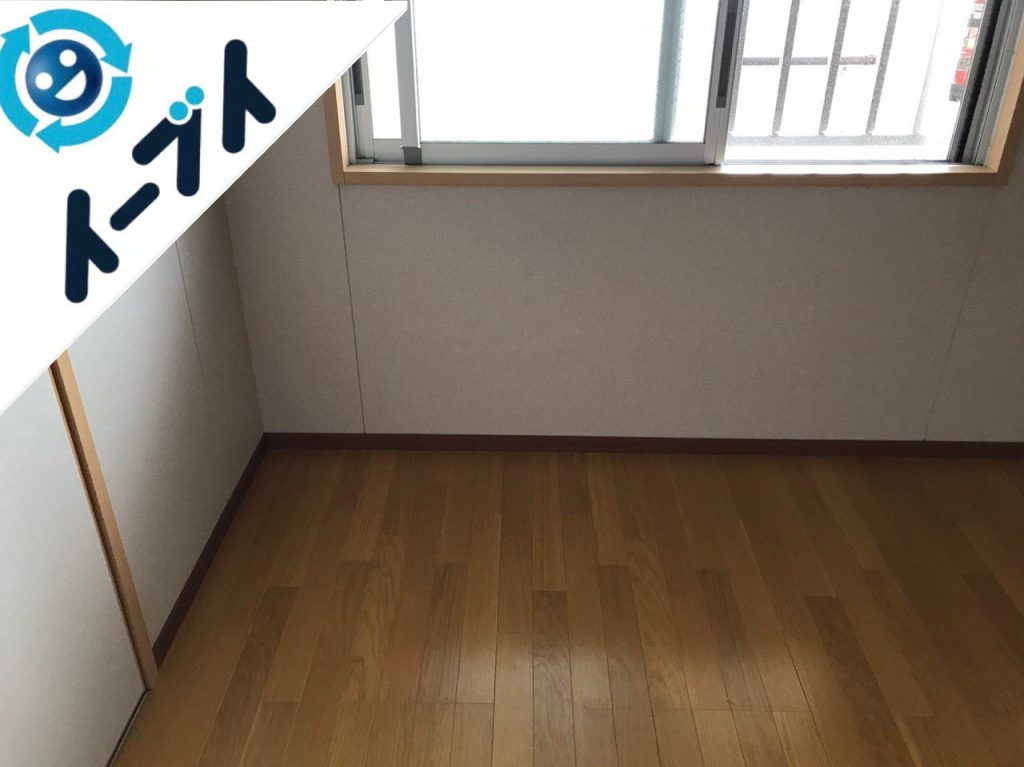 2018年12月20日大阪府大阪市西区でお部屋一室の不用品の回収をしました。写真1