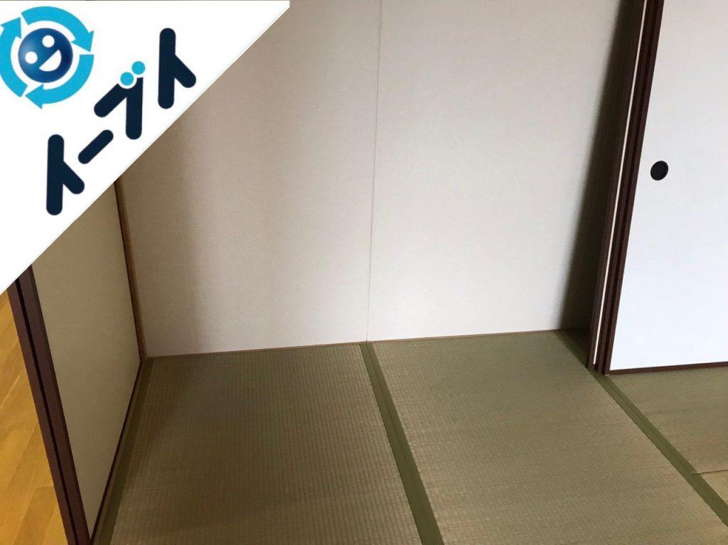 2018年12月14日大阪府大阪市東淀川区で転居に伴い布団やキッチン道具などを回収しました。写真5