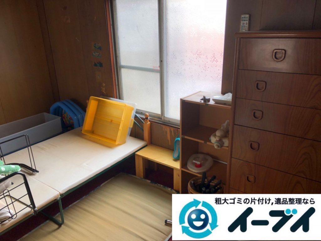 2018年12月18日大阪府大阪市住之江区で実家の退去に伴い家財処分のご依頼。写真4