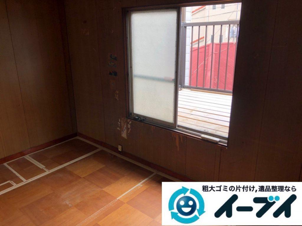 2018年12月18日大阪府大阪市住之江区で実家の退去に伴い家財処分のご依頼。写真3