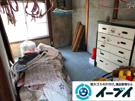 2018年12月18日大阪府大阪市住之江区で実家の退去に伴い家財処分のご依頼。写真2