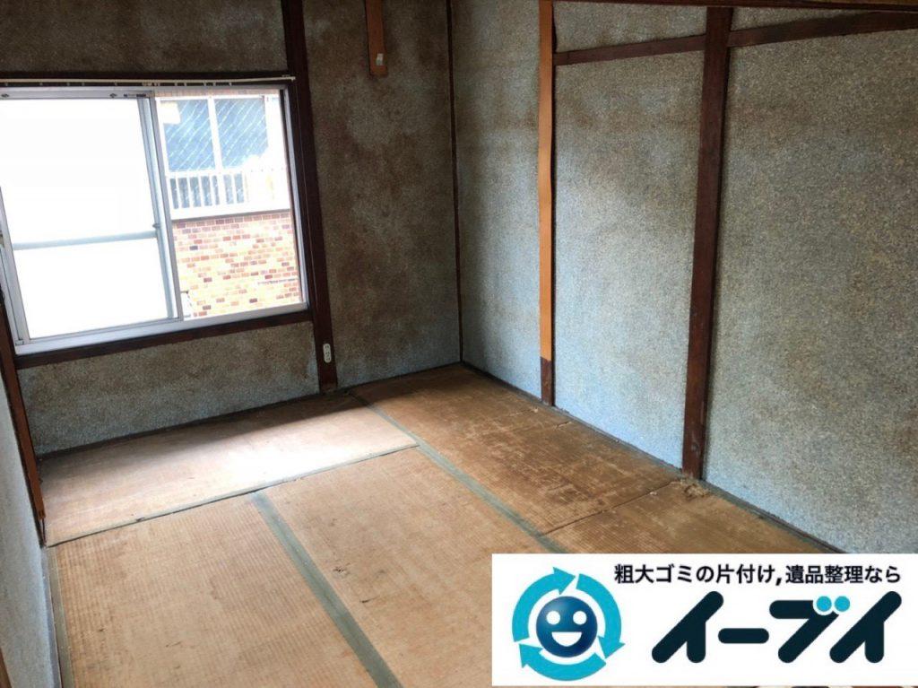 2018年12月18日大阪府大阪市住之江区で実家の退去に伴い家財処分のご依頼。写真1