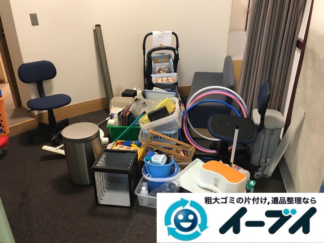 2018年12月22日大阪府大阪市西淀川区でオフィス移転に伴い不用品の回収のご依頼。写真4