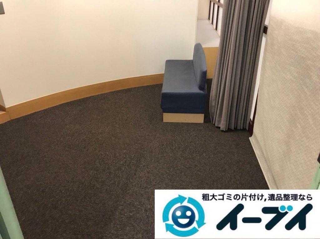 2018年12月22日大阪府大阪市西淀川区でオフィス移転に伴い不用品の回収のご依頼。写真3