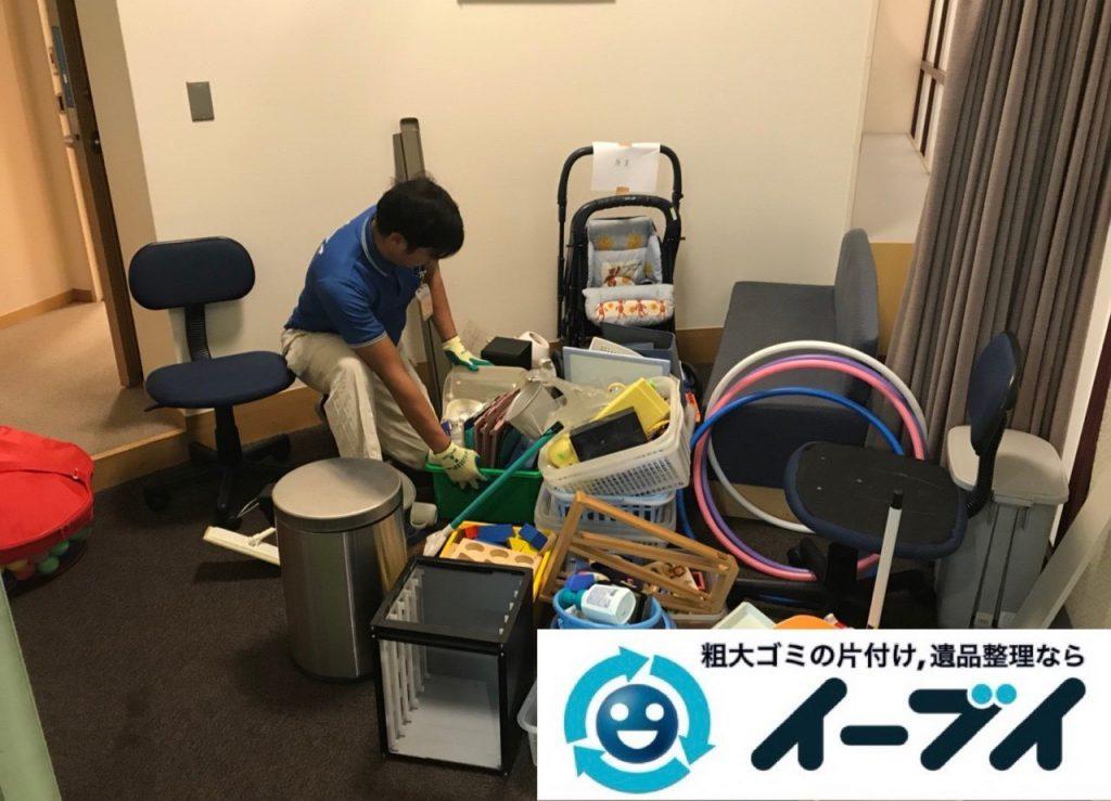 2018年12月22日大阪府大阪市西淀川区でオフィス移転に伴い不用品の回収のご依頼。写真2